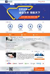 金融公司网   网站建设
