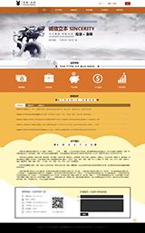 金融投资网  网站建设