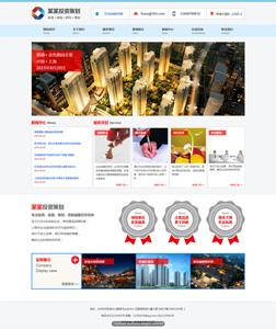 投资策划公司 网站建设